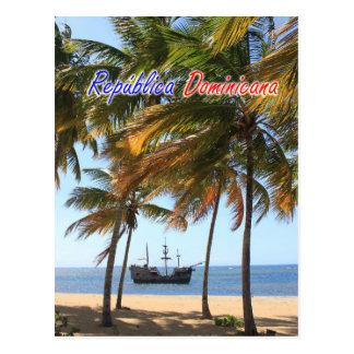 Het Schip van de Dominicaanse Republiek Briefkaart