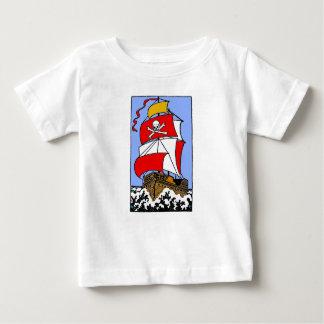 Het Schip van de piraat Baby T Shirts