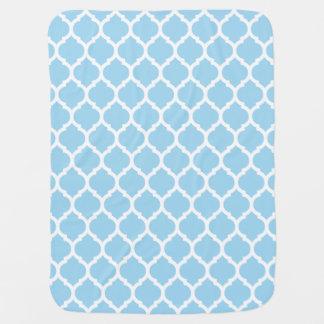 Het schitterende Blauwe Marokkaanse Patroon Babydoek