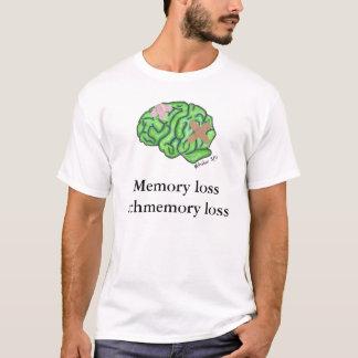 """Het schmemory verlies"""" t-shirt """"van de amnesie"""