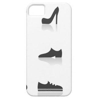 Het schoeisel van het pictogram barely there iPhone 5 hoesje