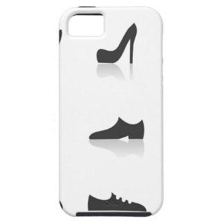 Het schoeisel van het pictogram tough iPhone 5 hoesje