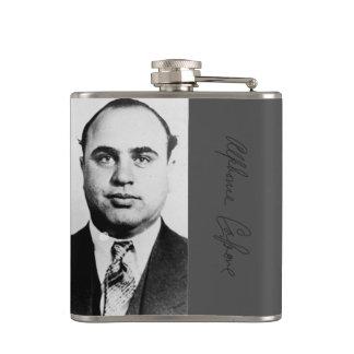 Het Schot van de Mok van Al Capone Heupfles