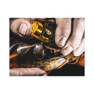 Het Schot van de whisky Canvas Print