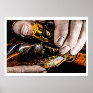 Het Schot van de whisky Poster