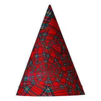 het Schotse gekleurde PET   van de draaikolkPARTIJ Feesthoedjes