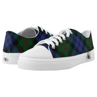Het Schotse Geruite Schotse wollen stof van Baird Low Top Schoenen