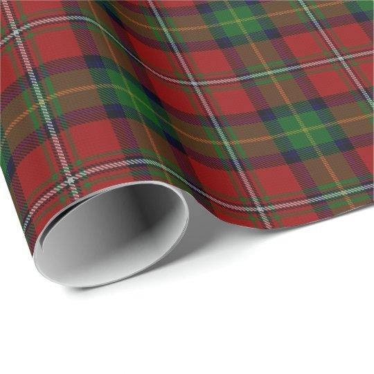 Schotse Geruite Wollen Stof.Het Schotse Geruite Schotse Wollen Stof Van Boyd Cadeaupapier
