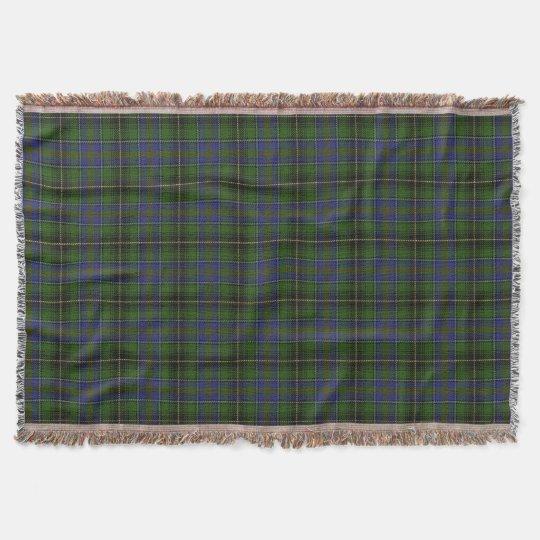 Schotse Geruite Wollen Stof.Het Schotse Geruite Schotse Wollen Stof Van Deken