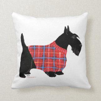 Het Schotse Hoofdkussen van de Sweater van Terrier Sierkussen