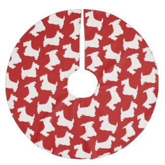 Het Schotse Patroon van de Hond van Terrier Kerstboom Rok