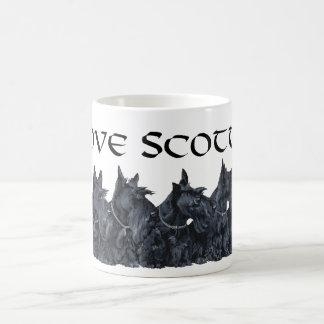 Het Schotse Verzamelen zich van Terrier Koffiemok