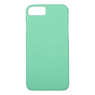 Het SCHUIM van het ZEE GROENE (stevige kleur) ~ iPhone 8/7 Hoesje