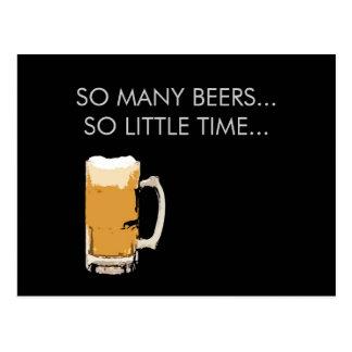 Het schuimende Briefkaart van de Mok van het Bier