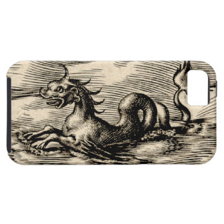 Het Serpent van het Zee van de Kaart van de wereld Tough iPhone 5 Hoesje