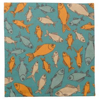 Het Servet van de goudvis