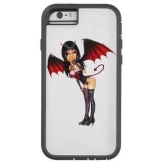 Het sexy Meisje van de Duivel Tough Xtreme iPhone 6 Hoesje