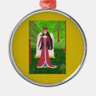 Het Siberische Ornament van de Engel - de Ronde