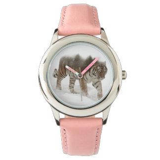 Het Siberische tijger-tijger-dubbele Horloge