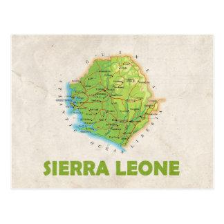Het Sierra Leone van de BRIEFKAARTEN ♥ van de Briefkaart