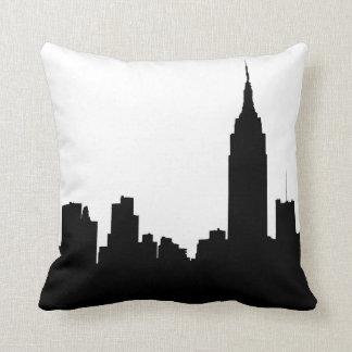 Het Silhouet van de Horizon NYC, de Staat van het Sierkussen