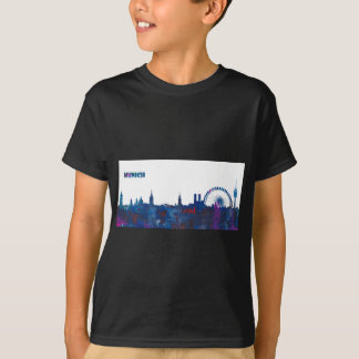 Het Silhouet van de Horizon van München T Shirt