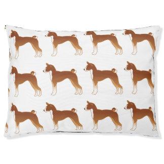 Het Silhouet van de Illustratie van het Hondenras Hondenbedden