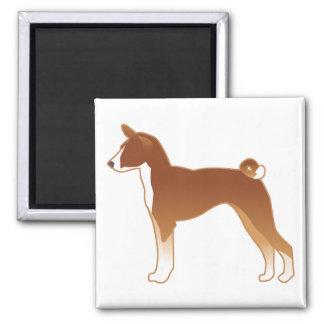 Het Silhouet van de Illustratie van het Hondenras Magneet