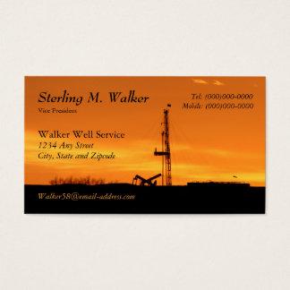 Het Silhouet van de Installatie van de Dienst van Visitekaartjes
