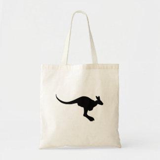 Het Silhouet van de kangoeroe Draagtas