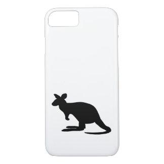 Het Silhouet van de kangoeroe iPhone 8/7 Hoesje