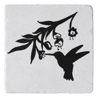Het Silhouet van de kolibrie Trivet
