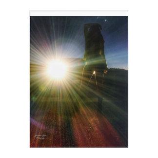 Het Silhouet van de koplamp Acryl door Jacqueline Acryl Afdrukken