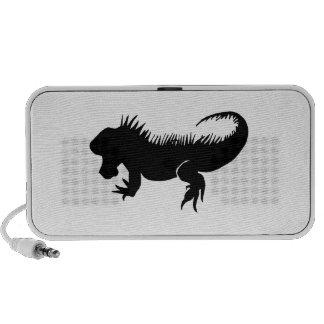 Het Silhouet van de leguaan iPod Speaker
