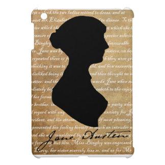 Het Silhouet van de Pagina van Jane Austen iPad Mini Case