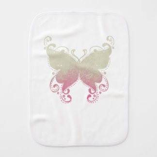 Het Silhouet van de vlinder - de Doek van de Spuugdoekje