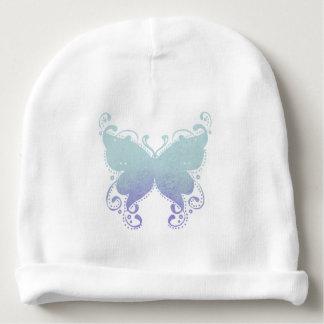 Het Silhouet van de Vlinder van de pastelkleur - Baby Mutsje