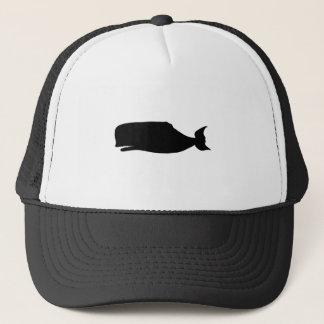 Het Silhouet van de walvis Trucker Pet