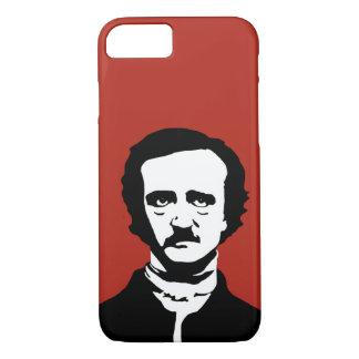 Het Silhouet van Edgar Allan Poe iPhone 8/7 Hoesje