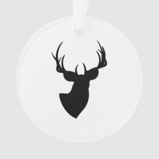 Het Silhouet van herten Ornament