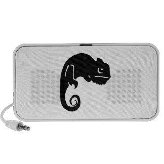 Het Silhouet van het kameleon iPod Speaker