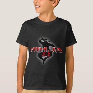 Het Silhouet van Ninja T Shirt