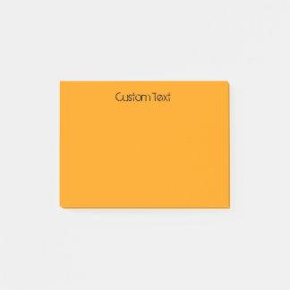 Het Sinaasappel van de douane Post-it® Notes