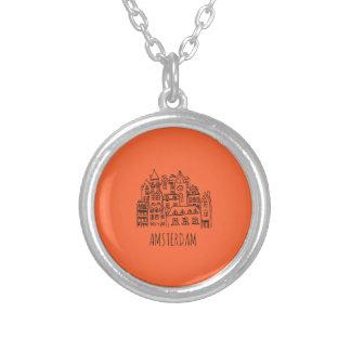 Het Sinaasappel van de Herinnering van de Stad van Zilver Vergulden Ketting