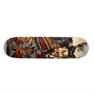 Het Skateboard Skidone van samoeraien
