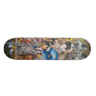 Het Skateboard van Berlijn Graffiti
