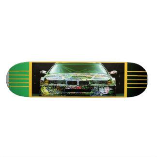 Het Skateboard van de Auto van Graffiti