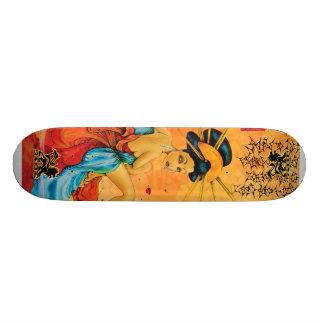 Het Skateboard van de Geisha van de bezinning
