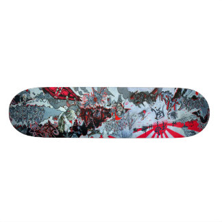 Het Skateboard van de kamikaze - Sk8 Dek Graffiti