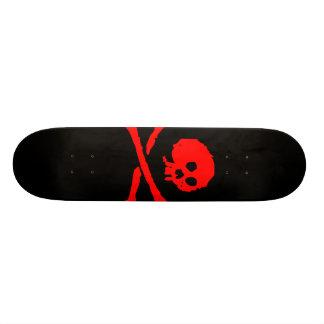 Het Skateboard van de Schedel van de piraat